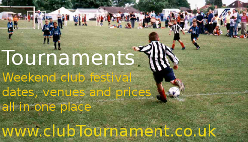 Football tournament listing